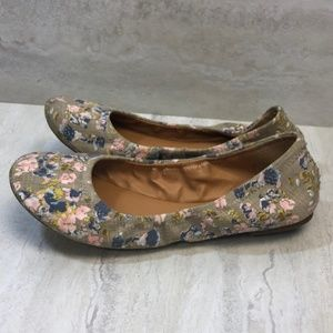 Lucky Brand Emmie Floral Flat